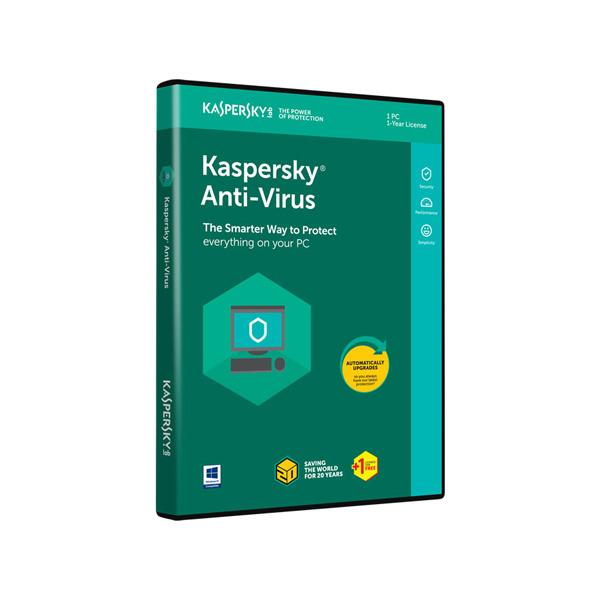 KASPERSKY ANTI-VIRUS 2018 1 PC